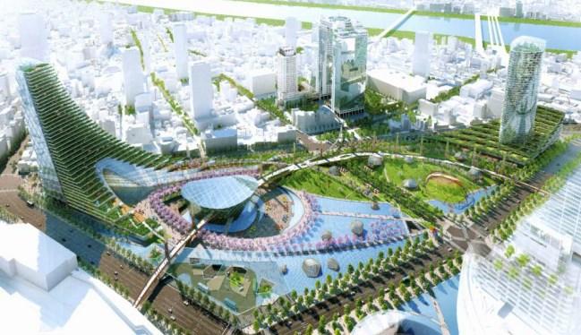 【大阪】「空中庭園展望台」を一新、梅田スカイビル開業25周年で YouTube動画>3本 ->画像>56枚